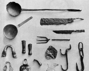 Jamestown kitchen instruments