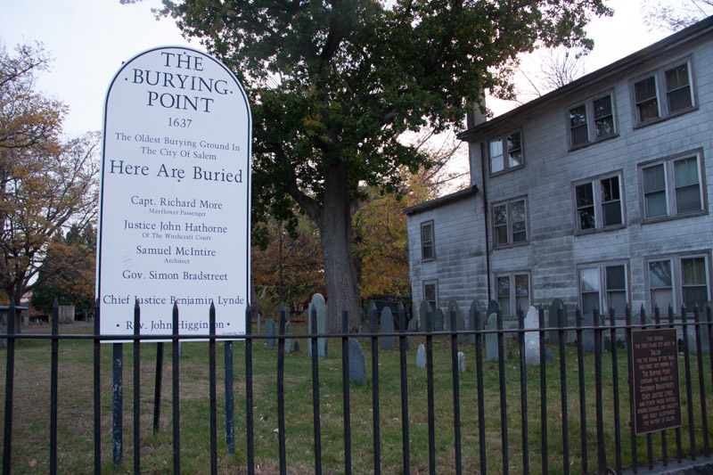 The Burying Point Cemetery, Salem