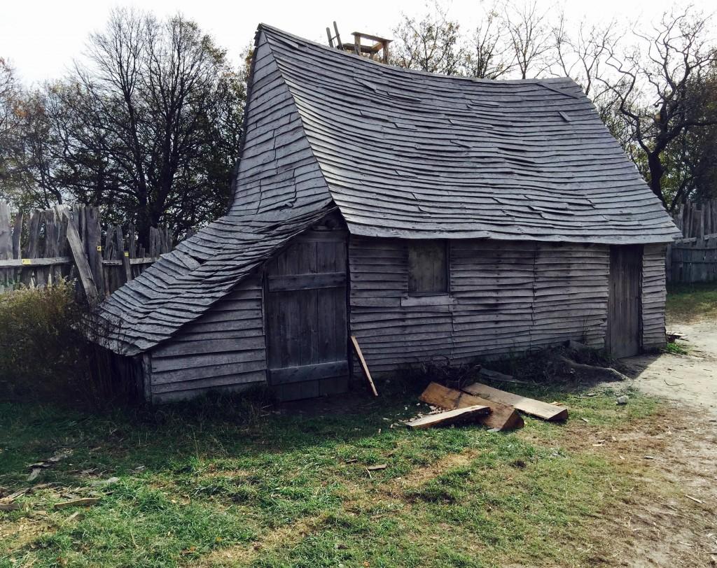 Plimoth village home ca. 1627