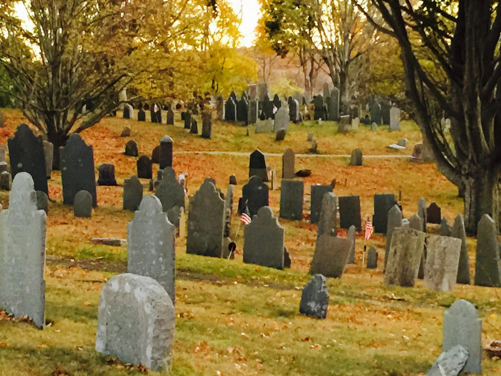 Burial Hill in Plymouth